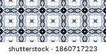 Blue Turkish Mosaic Texture....