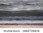 Small Waves At The Beach