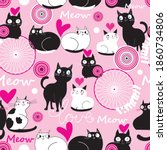 Seamless Holiday Pattern With...