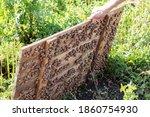 Raised Wooden Panel  Under...