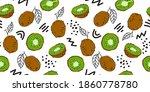 bright seamless fruit...   Shutterstock .eps vector #1860778780