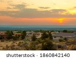 Hazy Sunset Photographed From...