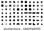 vector basic shape collection... | Shutterstock .eps vector #1860968590