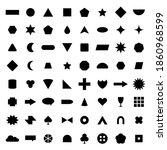 vector basic shape collection...   Shutterstock .eps vector #1860968599