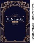 abstract luxury ornamental art...   Shutterstock .eps vector #1860994996