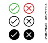 checkmark icons set for web...