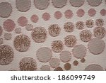 background of textile texture.... | Shutterstock . vector #186099749