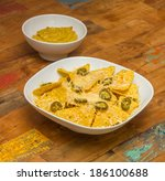 Nachos Chips With Cheese And...