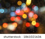 Colorful Bokeh Background...