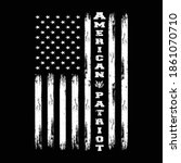 american patriot   american... | Shutterstock .eps vector #1861070710