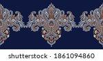 seamless asian decorative... | Shutterstock .eps vector #1861094860
