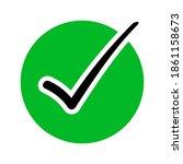 vector illustration of green...   Shutterstock .eps vector #1861158673