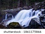 Waterfall shot with long shutterspeed