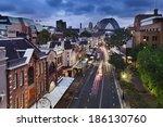 australia sydney the rocks... | Shutterstock . vector #186130760