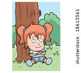 tomboy | Shutterstock .eps vector #18613561