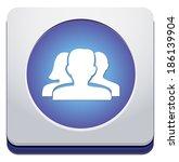 blog button | Shutterstock .eps vector #186139904