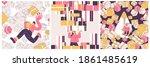 ocd vector concept illustration ... | Shutterstock .eps vector #1861485619