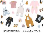 set of vector illustrations of ... | Shutterstock .eps vector #1861527976