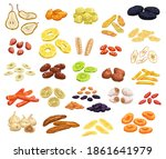 dried fruits and candied... | Shutterstock .eps vector #1861641979