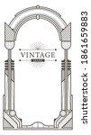 abstract luxury ornamental art...   Shutterstock .eps vector #1861659883