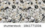 seamless decorative ve... | Shutterstock . vector #1861771036