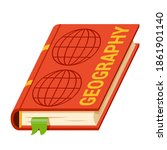 geography school  university ... | Shutterstock .eps vector #1861901140