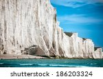 White Chalk Cliffs As Seen Fro...