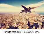 business travel | Shutterstock . vector #186203498