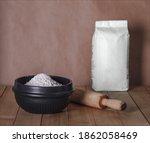 White Paper Bag  Flour Bag With ...