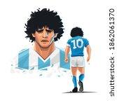 illustration of the champion... | Shutterstock .eps vector #1862061370