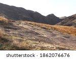 Autumn Sandy Mountain Hills Of...