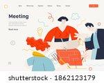 business topics   project...   Shutterstock .eps vector #1862123179