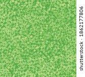 grass texture pixel art. vector ... | Shutterstock .eps vector #1862177806