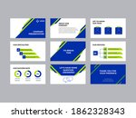 company investment pitch decks... | Shutterstock .eps vector #1862328343