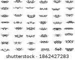 vector tattoo art  abstract... | Shutterstock .eps vector #1862427283