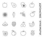 fruit fast icon vector design   Shutterstock .eps vector #1862441659