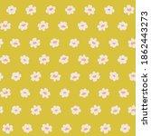 cute daisy floral pattern....   Shutterstock .eps vector #1862443273