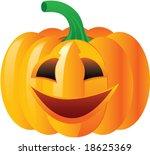 vector colour fun pumpkin. | Shutterstock .eps vector #18625369