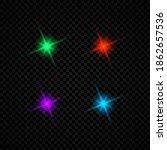 light effect of lens flares.... | Shutterstock .eps vector #1862657536