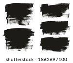 flat calligraphy paint brush...   Shutterstock .eps vector #1862697100