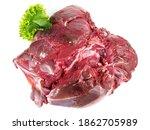 Raw Roe Deer   Wild Game Meat...
