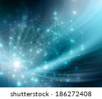 abstract blue background | Shutterstock . vector #186272408