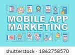mobile app marketing word...