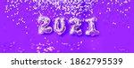 New Year 2021 Celebration. Gold ...