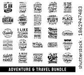 adventure typography quotes... | Shutterstock .eps vector #1862947483