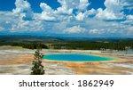 grand prismatic pool ... | Shutterstock . vector #1862949