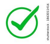 vector illustration of green...   Shutterstock .eps vector #1863011416
