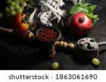 Bowl Of Hookah Tobacco. Berries ...