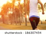healthy lifestyle young asian... | Shutterstock . vector #186307454