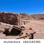 Old Historic Mine Building With ...